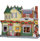 Lemax-Pringle Candle & Soap Shop -lighted Holiday Village /Train building