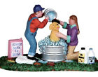 Lemax Sparky Gets a Bath -Holiday Village Accent-retired