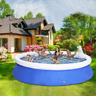 Outdoor Inflatable Swimming Paddling Pool Large Garden Family Pools Fun Play US