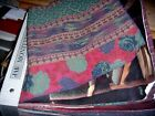 JAB Fabric Swatch Sample Book quilts 12X13COTTONRAYON67 PCS SOUTH WESTERN