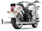Cobra True Duals Exhaust System for 2012 17 Harley Softail models 6989