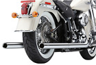 Cobra True Duals Exhaust System for 2012 17 Harley Softail models 6986