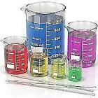 Borosilicate Glass Beakers For Chemistry Lab Pack Of 10 Free Shipping
