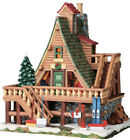 Lemax -Woodland Retreat- 2009 Lighted Building -Holiday Village Retired