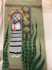Native American Design Unfinished Needlepoint Canvas 13x23