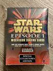 Star Wars Episode 1 Widevision Trading Cards Collector's Edition Sealed Box
