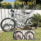 CANNONDALE OPTIMO LARGE FRAME MOUNTAIN BMX ROAD BIKE 27 Gear SPINERGY XYCLONE