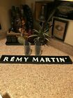 1 Remy Martin Rubber Bar Spill Matt  2 Frosted Remy Glasses
