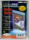 Ultra PRO 81130 Team Bags Resealable Sleeve - 100 Count
