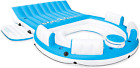 Inflatable Oasis Island 6 Person Pool Lake Relaxing Floating Lounge Water Party