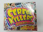 Cereal Killers 2nd series factory sealed sticker card box Wax Eye 2012