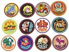 12 ZODIAC SIGN FULL SET HOROSCOPE BIRTH SIGN PATCH EMBROIDERED IRON ON