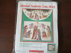 Dimensions BLESSED NATIVITY Tree Skirt Kit 8379 Open Package Unused Complete