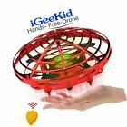 iGeeKid Hand Operated Mini Drones Kids Flying Ball Toy Easter Gifts for Boys