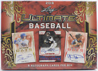 2019 Leaf Ultimate Draft Baseball Hobby Box —6 Autographed Cards— Factory Sealed