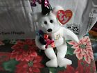 2005 TY Beanie Baby Babies Original 2006 Happy New Year Bear White 13 Gen 40309