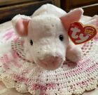 The Beanie Babies Collection Ty Inc, Luau Plush Pink Pig Born August 21, 2003