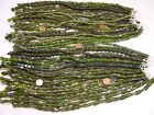 4 Pounds Assorted Shapes and Styles Green India Handmade Glass Beads GRP 16