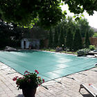 VEVOR Pool Safety Cover Inground Pool Cover 22x32ft Rectangle Safety Pool Cover