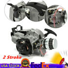 2 Stroke Engine Motor Pocket ATV Pit Bicycle Scooter Moped Engine Part 47CC 49CC