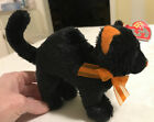 Ty Beanie Baby 2.0 SCAREDY BLACK CAT retired 2007 HALLOWEEN w/tags Arched Back