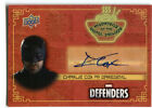 2018 Upper Deck The Defenders Trading Cards - Checklist Added 10