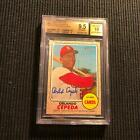 2017 TOPPS HERITAGE ORLANDO CEPEDA *REAL ONE AUTO AUTOGRAPH BGS 9.5 10 GEM MINT*