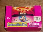 1985 Topps Garbage Pail Kids GPK Ser 1 UK Mini Empty Box with 48 Wrappers