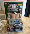 Lemax White Rabbit Book Store. Christmas Village Holiday with Box.