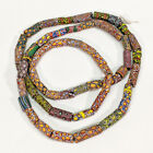 54 Strand Antique Venetian Glass Millefiori African Trade Beads Mixed Large