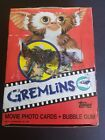 GREMLINS movie trading cards full box unopened 36 Wax Packs Topps 1984