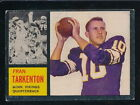 1962 Topps Football Cards 6
