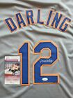 Ron Darling Signed XL Jersey Auto Autographed JSA Witnessed COA New York Mets