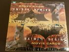 Batman Begins Movie Trading Cards Factory Sealed Box Topps