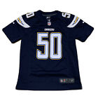 Rare Youth San Diego Chargers Manti Te'o #50 NFL Jersey By Nike Infield Size M