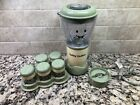BABY BULLET Magic Bullet Food Blender Processor System w Containers
