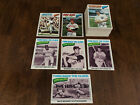 ⚾️1977 Topps Baseball Card Lot Great For Set Builders Start Or Complete Set To