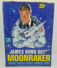 1979 TOPPS * MOONRAKER * 36 PACK BOX * OLD STORE STOCK * RETRO* 007 WAX * WOW