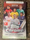 2019 20 Topps Chrome BUNDESLIGA Soccer HOBBY Box FACTORY SEALED 1 AUTO Haaland