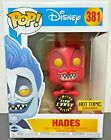 Funko Pop! Disney #381 HADES (Red) of Hercules CHASE GITD Hot Topic Exclusive!