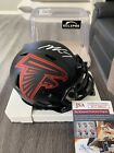 2016 Leaf Autographed Mini-Helmet Football 3