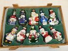 Thomas Pacconi Christmas Blown Glass Ornamental CH 701 With Wooden Crate C8
