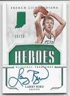 Larry Bird Rookie Cards and Autographed Memorabilia Guide 20