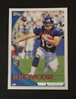 Tim Tebow 2010 Topps Rookie Card #440 Denver Broncos
