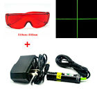 18x75mm Long time working 532nm 10mw green laser module with safe glassesCross