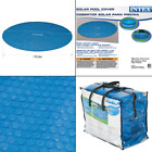 N AA Intex Solar Cover for 18ft Diameter Easy Set and Frame Pools Blue