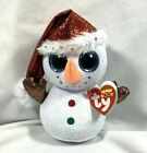 NEW WITH TAGS TY BEANIE BOOS CHRISTMAS HOLIDAY FLURRY BD DECEMBER 18