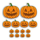 XL Party Wall Decoration Pack Stickers Large Halloween Pumpkins Sticker 75035