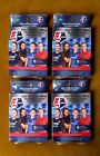 2021 Official Parkside NWSL Premiere Edition Trading Cards Hanger Box, Lot of 4