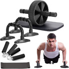 Max4Out Ab Roller Wheel 5 IN 1 Ab Roller Kit with Knee Pad Push up Bars Hand